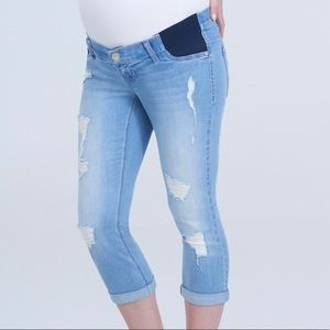Seven7 Jeans Fairbanks Maternity straight leg Sz14